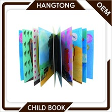 Custom factory harmless recyclable material first year baby memory book