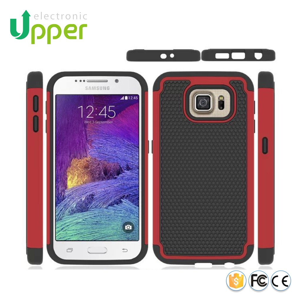 Silicon bumper customize slim armor rugged protective case for huawei ascend 2 g7 honor 4c g520 g525 p6 g6