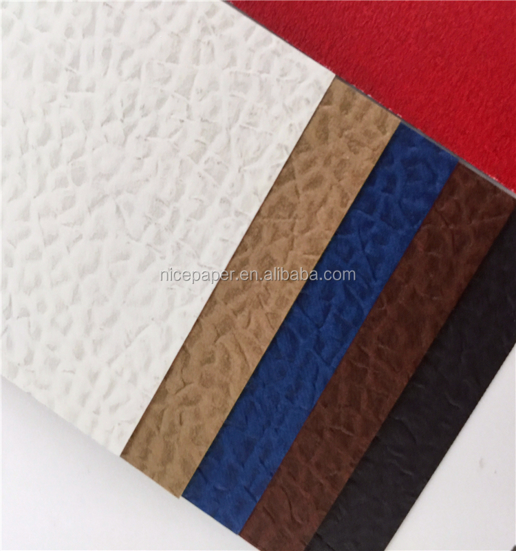 Colors Leather Embossed Paper
