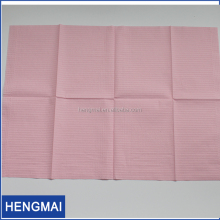 medical disposable adult 2-ply paper bib for dental tattoo nail use