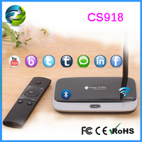 Quad Core TV Box CS918 TV Box Quad Core newest popular hot product