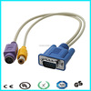 Vga to rca y splitter composite audio cable
