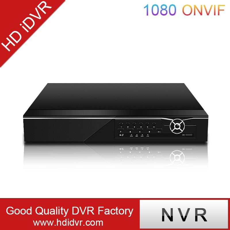 4 CH Standalone NVR Support Mobile Phone h.264 Net video recorder