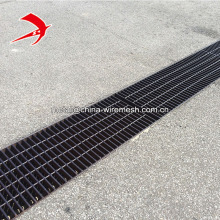 Hot dip galvanized steel grating trench cover metal floor grilles