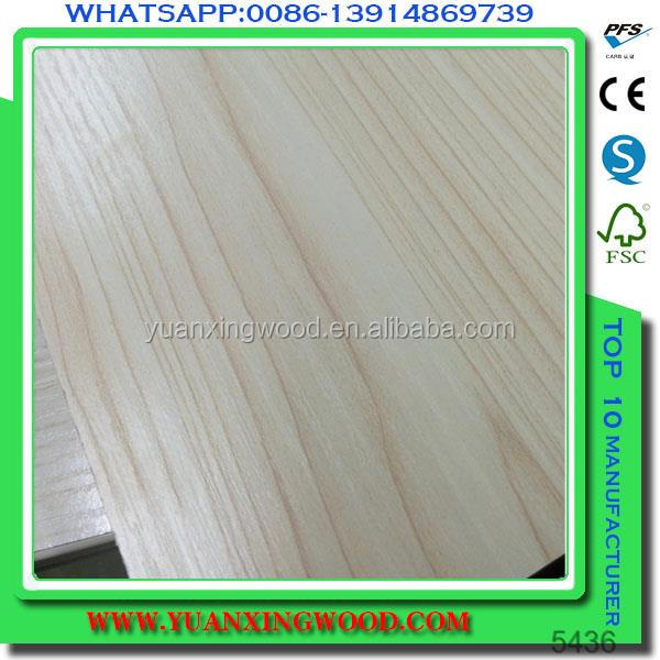 3mm 9mm 18mm <strong>pine</strong>/bintangor/okoume plywood, wood grain melamine paper laminated plywood