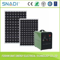 Flexible 250W 300W solar panels and enery system for home use