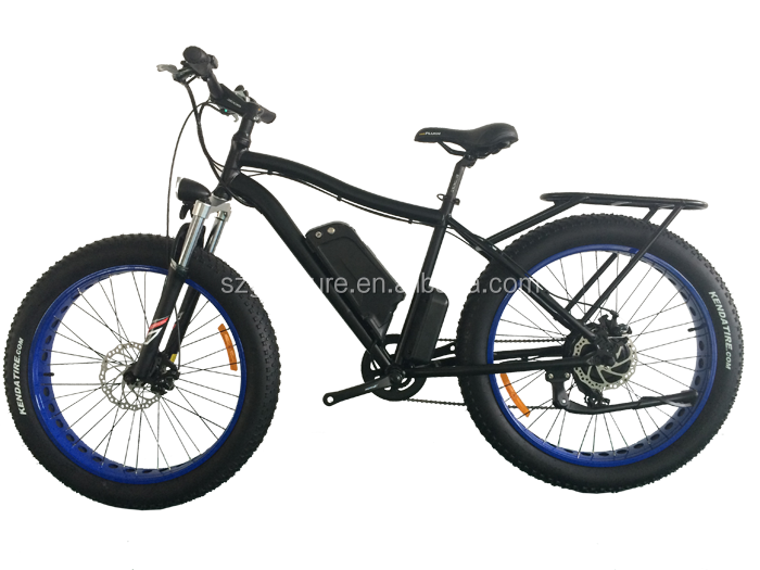 Stealth Bomber 48V Li-ion Battery Front and Rear Suspension Fork fast Electric Motorcycle big