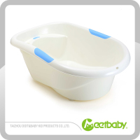 Plastic baby bathtub shower tub of kids baby bathtub
