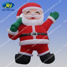 China supplier 210D oxford cloth funny giant outdoor christmas game inflatables