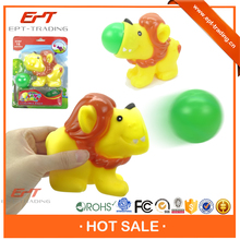 Brand new funny lion plastic ball shooting gun toy for sale
