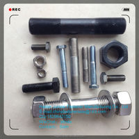 double arming bolt fastener galvanized bolt nut head stud bolt price