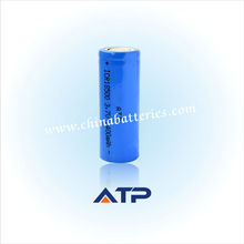 wide application rechargeable 18500 battery / li-ion battery 3.6v 1400mah / batteries 3.6v 1400mah