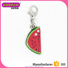 2017 china supplier wholesaler charm, jewelry fruit charms