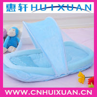 2013 new design high quality foldable baby bed with net baby cradle net