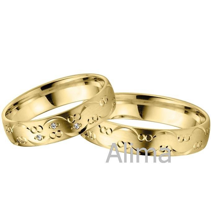 AGR0260-W design saudi gold jewelry 18k gold wedding ring engagement marriage ring