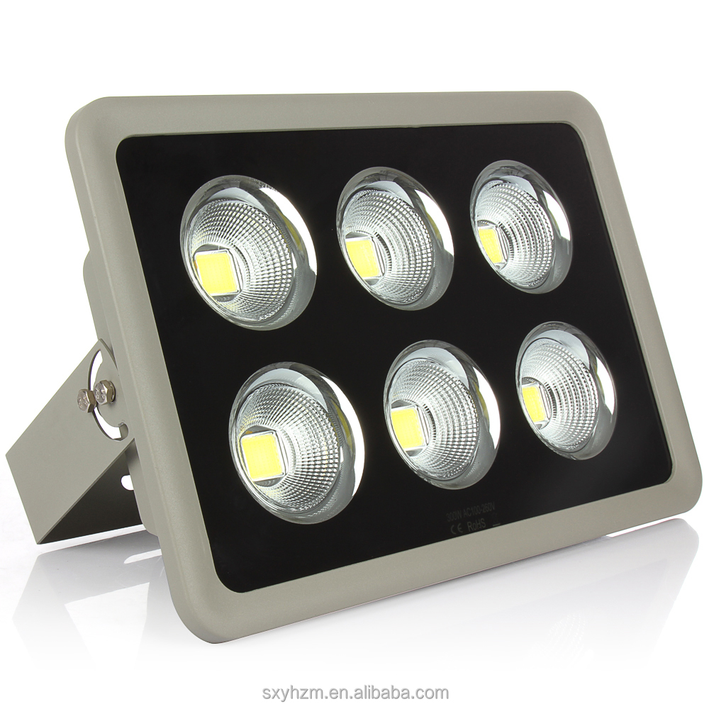 High power spot floodlighting Die cast aluminum waterproof 300w COB led light
