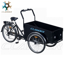 China Alibaba Supplier Front Loading Cargo Tricycle
