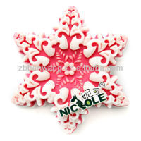 Christmas handmade mold silicone soap molds silicone snowflake forms of soap R0839