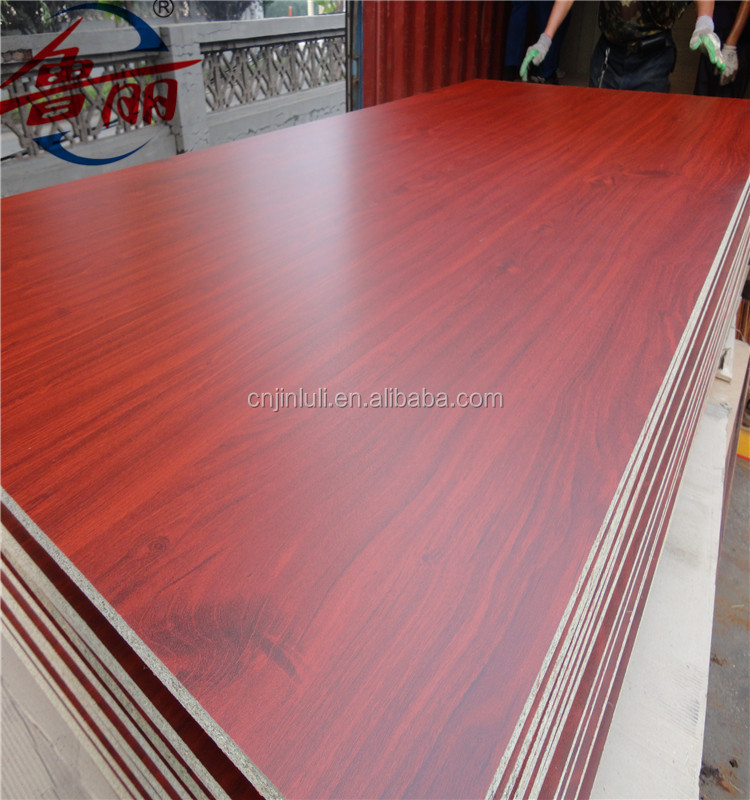 18MM MFC Melamine Faced Chipboard ,Particle Board manufacturer