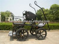 hcaballo de rueda del carro Manufacturers selling elegant horse carriage wheels