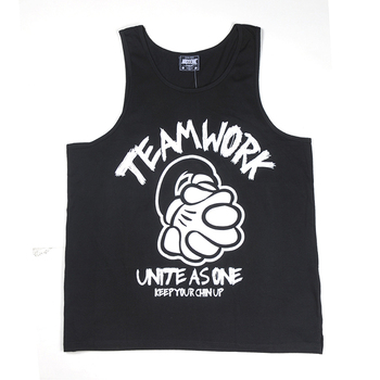 All Color And Free Logo Custom Printed Tank Tops