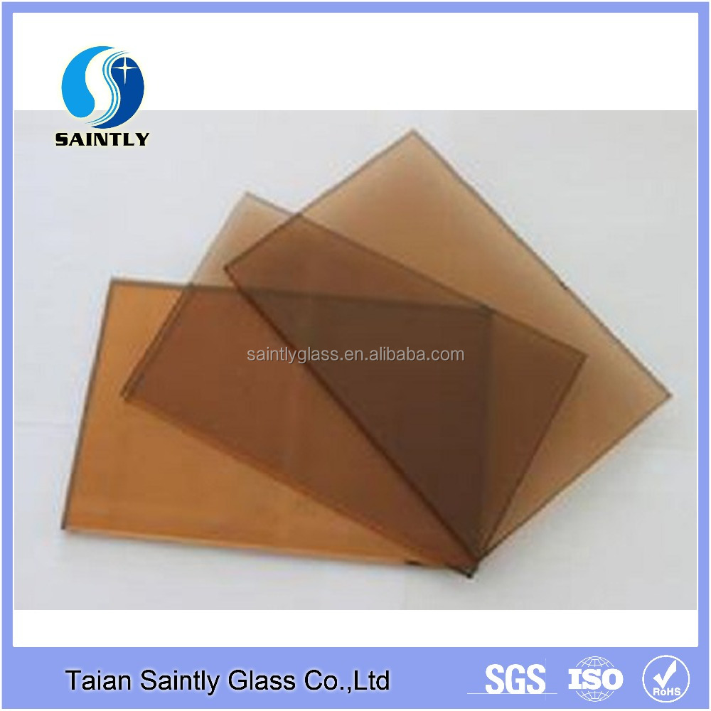 Shandong factory tempered tinted glass 4mm prices