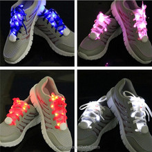 cheap high quality led shoelaces light up shoelaces