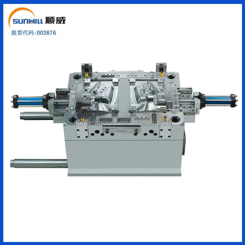 Car parts ready made plastic mould steel 2311 making machine
