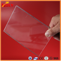 Both Side UV Protected Polycarbonate Solid Sheet Plastic Roof Panels