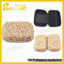 PU cover woman traveling empty makeup box, makeup case