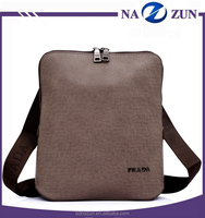 Good Quality Low Price Soft Customzied Logo Men's PU Leather Briefcase