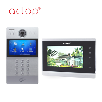 ACTOP TCP/IP tcp ip apartment door phone access control system