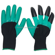 2018 New Daywons Genie Garden Gloves For Digging And Planting No More Worn Out Fingertips Unisex Claws On Right Hand