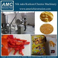Corn grits curl rings/Nik Nak/Cheetos production line/extruder/machine