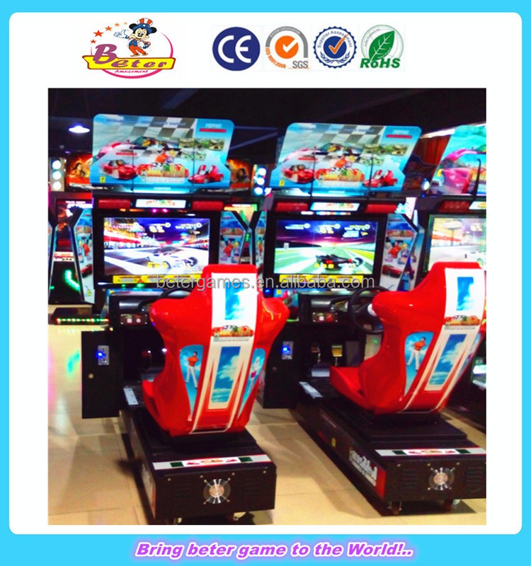 Hot sale car race games arcade driving simulating game machine