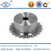 "1/2*1"" weld on hub DIN ISO standard C45 24b-2 pitch 38.1 roller 25.4 25T roller chain transmission drive sprocket"