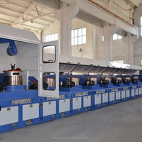High efficiency hot-sale staple steel wire drawing machine