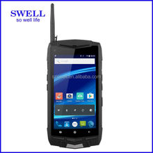 gsm walkie talkie phone cdma 450 mhz mobile phone swell rugged smart phone with barcode scanner