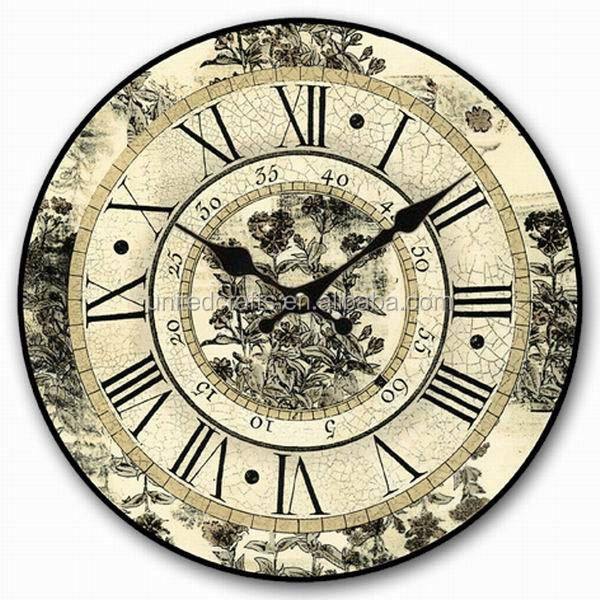 MDF home goods wall clocks for home furniture