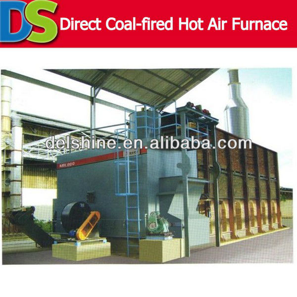 Direct Coal-fired Hot Air Coal Fired Hot Air Furnace