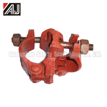 48.3*48.3mm Casting Iron Fixed Scaffolding Clamp For Steel Pipe Construction