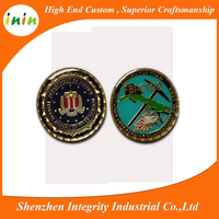 Souvenir Use for justice and Folk Art Style Brass challenge Coin