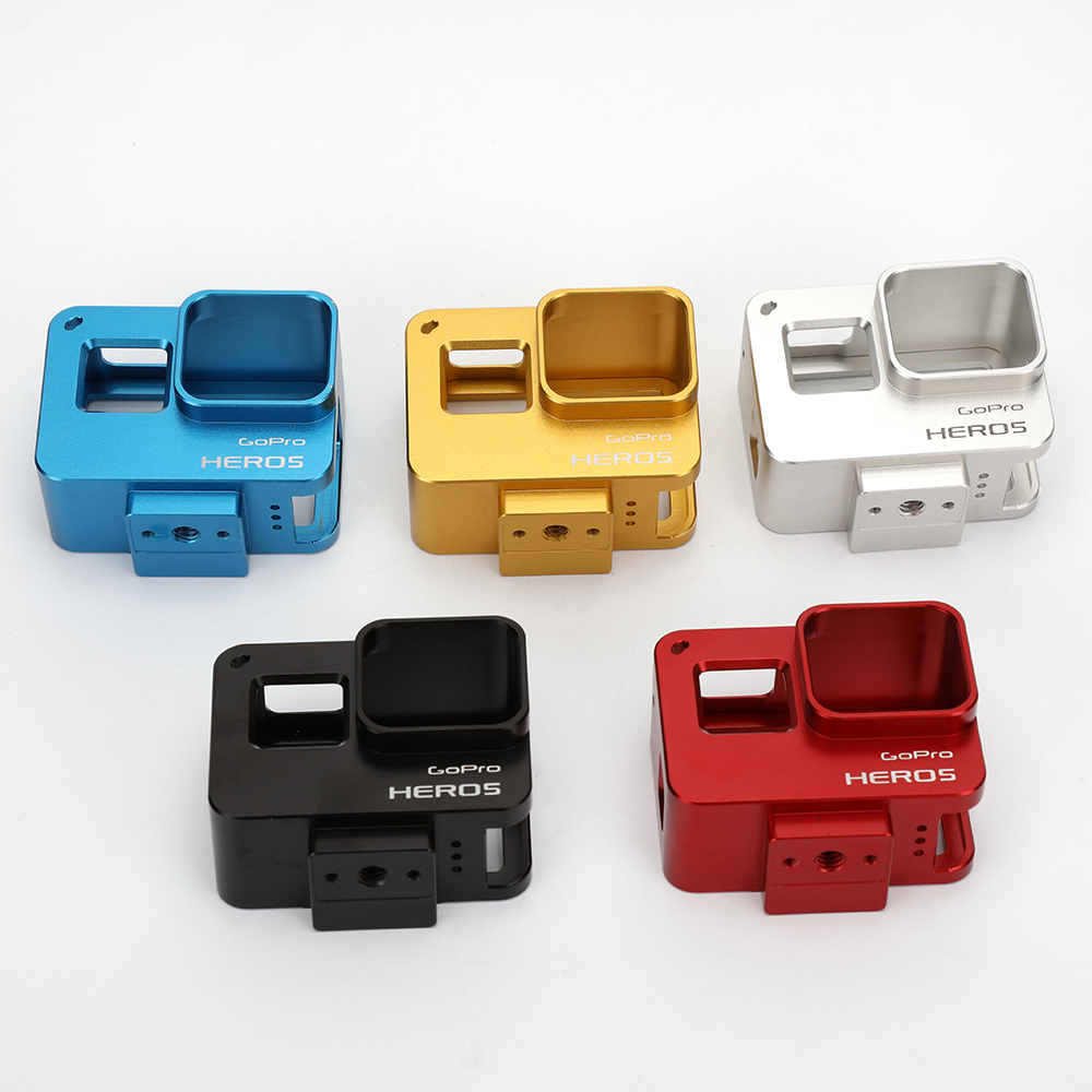 Factory Price CNC Machining Housing protective case cover for Gopros 5 protective case