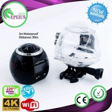 CHEAPEST V1 360 VR WIFI CAMERA 1080P HD UNDERWATER 360 free driver webcam laptop camera HIGH-DEFINITION LENS 360 ACTIO