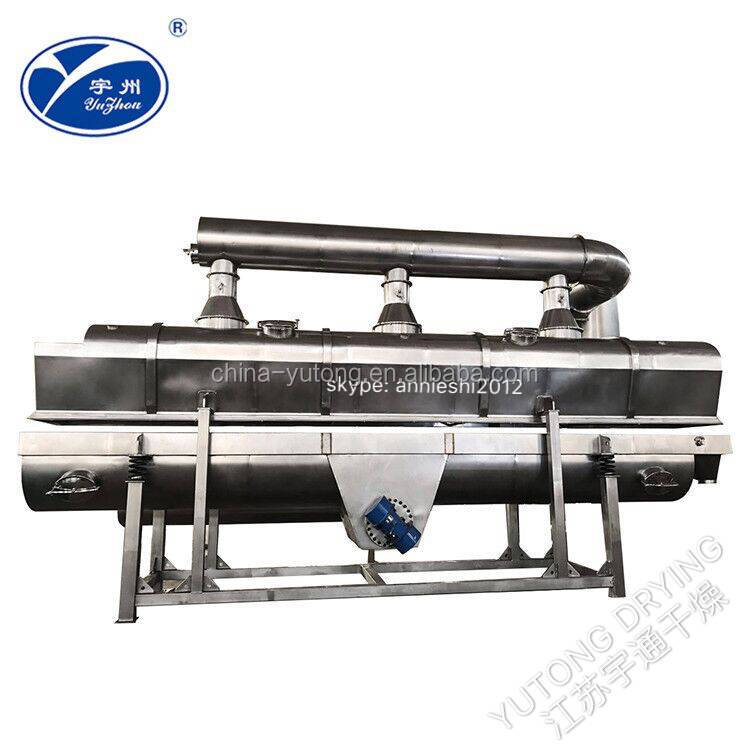 CE SGS ISO Approved High Efficient Choline Chloride Continuous Horizontal Vibrating Fluid Bed Dryer in Veterinary <strong>Industry</strong>