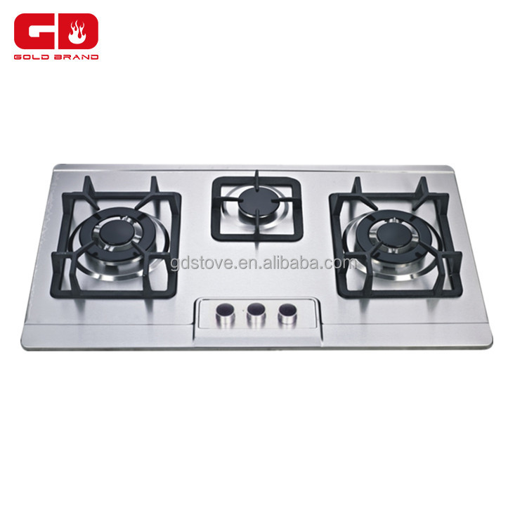 Stainless Steel <strong>Gas</strong> For 3 Burners CE