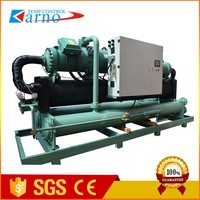 High Efficiency Industrial Water Cooled Chiller Cooling System For Concrete Batching Plant