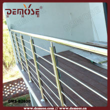 indoor building a deck metal railings uk