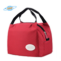 Reusable insulated fashion outdoors tote cooler lunch bag