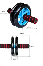New style Latest home power gym exercise wheel/AB exercise equipment /AB roller easy to use